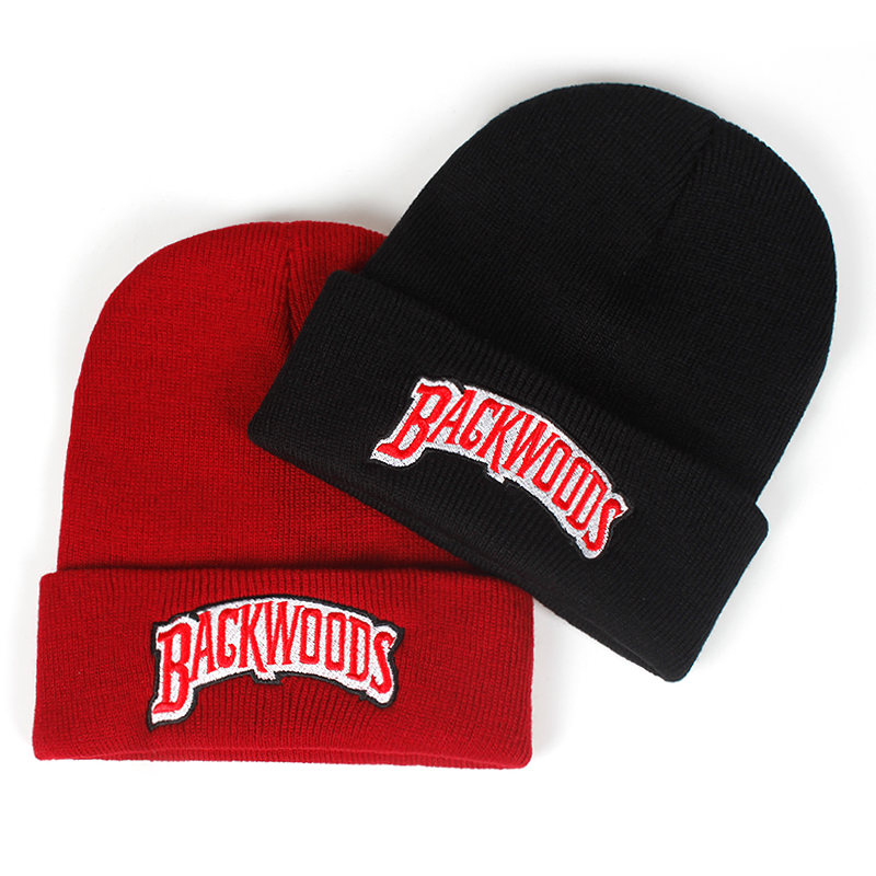 new   Beanie   Brand backwoods Letter Knitted winter hat Cotton Men Women Fashion Knitted Winter Hat Hip-hop   Skullies   Hats
