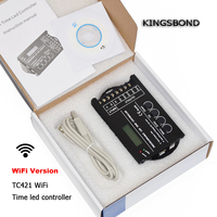 WiFi Smartphone Time Programmable Led Controller TC420 Dimmer Led Strip Rgb Lighting Timer DC12 DC24V Input