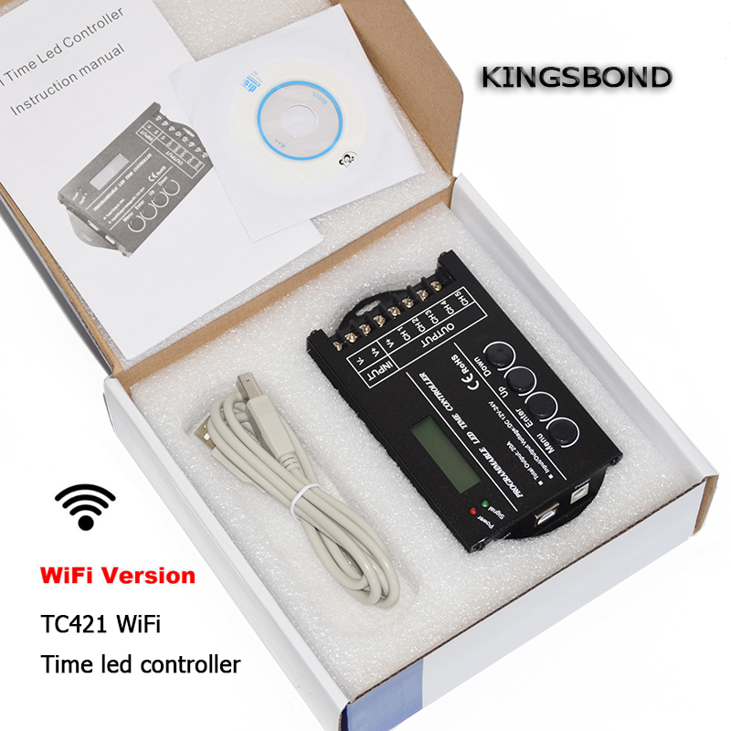 WiFi smartphone time programmable led controller TC420 dimmer led strip rgb lighting timer DC12 DC24V input 5 channels TC421 18v 5000mah with led indicator li ion battery for makita 18v battery 5 0ah bl1860 bl1850 bl1830 bl1840 194205 3 power tool
