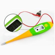 1 шт. ветеринарный термометр электронный термометр для животных собака кошка домашнее животное цифровое ветеринарное оборудование