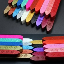 Hot Selling Vintage Colorful Sealing Wax Carved Sticks for Custom Logo Wax Seal Stamp P30