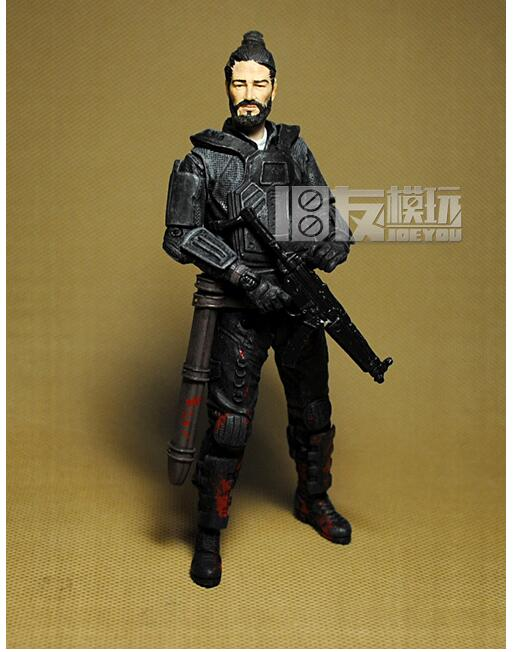 Hot ! 13cm high Classic Toy walking dead 6 <font><b>Jesus</b></font> <font><b>action</b></font> <font><b>figure</b></font> Toys Free shipping