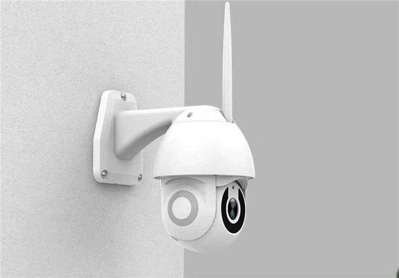 2.5 Inch 5X Zoom 2MP 1080P Wireless PTZ Camera Outdoor Water-proof IP Dome  Camera