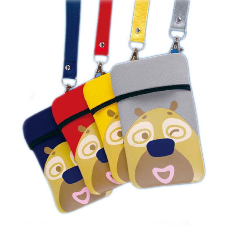S Cute Cartoon Neoprene Porte Carte Women Bancaire Haute Qualite De Visite Credit Homme Luxe Marque Card Holder Children Zipper