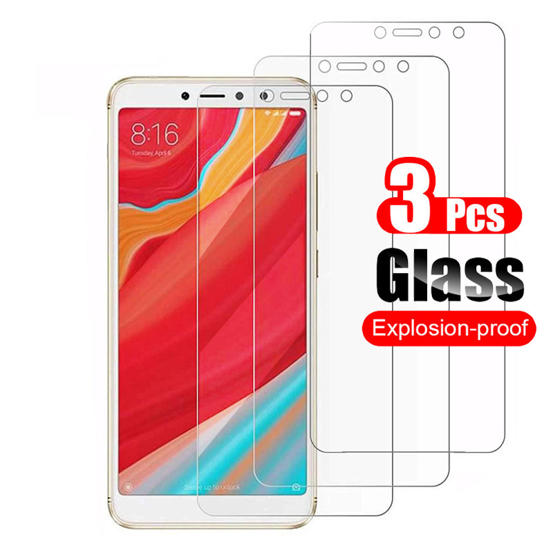 3Pcs For Xiaomi Redmi S2 Tempered Glass Screen Protector Protective Film 9H Scratch Proof Glass For Xiaomi Redmi S2 Y2