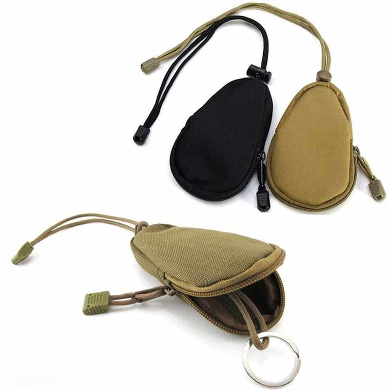 Key Wallets Holder Men New Design EDC Keys Organizer Keychain Bag Out Door Army Camo Pack Purse Army Keyring Pouch Purse Case