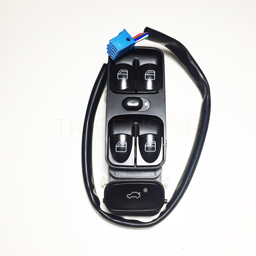 Front Left Power Window Switch For <font><b>Mercedes</b></font> <font><b>W203</b></font> C320 C230 C240 C280 C350 C32 C55 AMG 2038200110 2038210679 2038210479 image