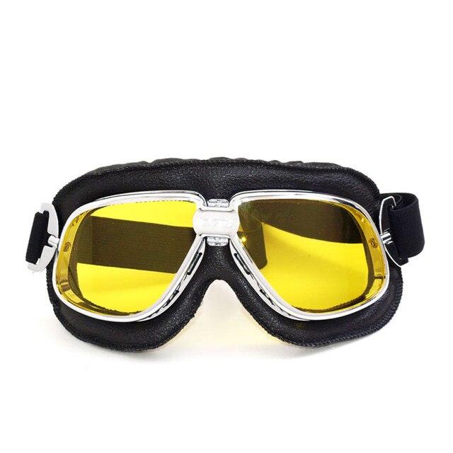 a05ac7a369 Vcoros venta caliente estilo retro para harley moto gafas steampunk gafas  de sol deportivas al aire