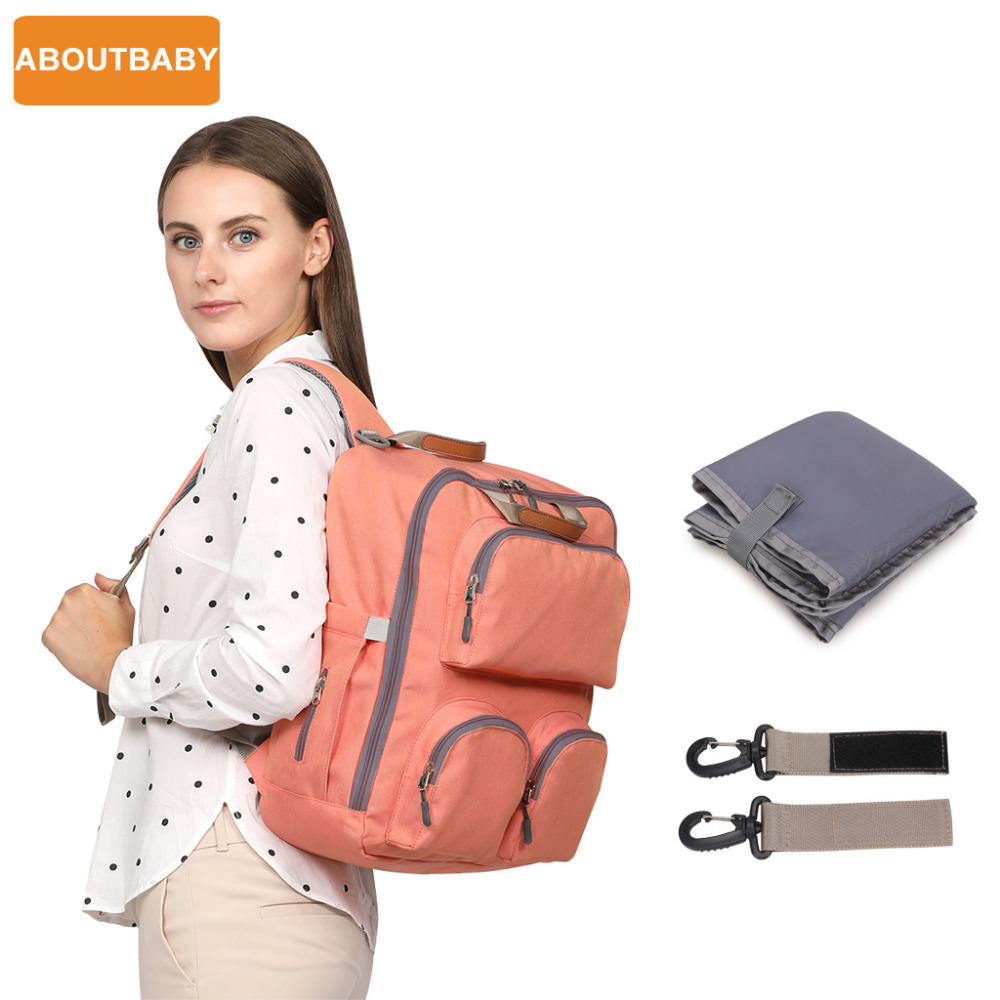 New fashion designer mother baby diaper bags bag backpack changing mummy maternity nappy bag for stroller accessories organizer 2018 new organizer mother baby handbags diaper bag maternity bags for baby stroller bag mummy nappy changing backpack