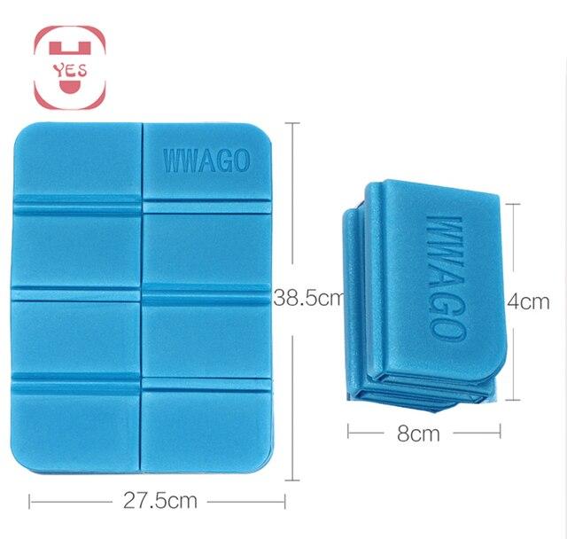 Travel Waterproof Folding Seat Cushion Pad Festival Foam Mat Floor Saver for