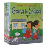 20/หนังสือ/ชุดเด็ก Usborne Story หนังสือภาพ Farmyard Tales เด็กที่มีชื่อเสียงหนังสือภาษาอังกฤษของเล่นเพื่อการศึกษาเด็ก 15x15 ซม.
