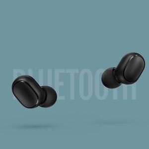 Image 3 - Xiaomi Redmi AirDots S Earbuds Earphone Bluetooth Headset 5.0 TWS Wireless Stereo SBC Cute Mini Light Earphone Auto Charging box