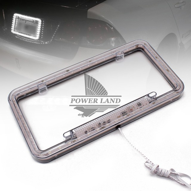 Beautiful Flashing License Plate Frame Model - Frames Ideas ...