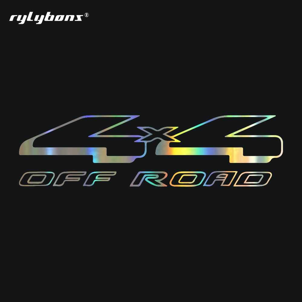 Rylybons 2nd Half Price 4X4 Off Road Stickers Decals Car Styling Decoration Door Body Window Vinyl Sticker