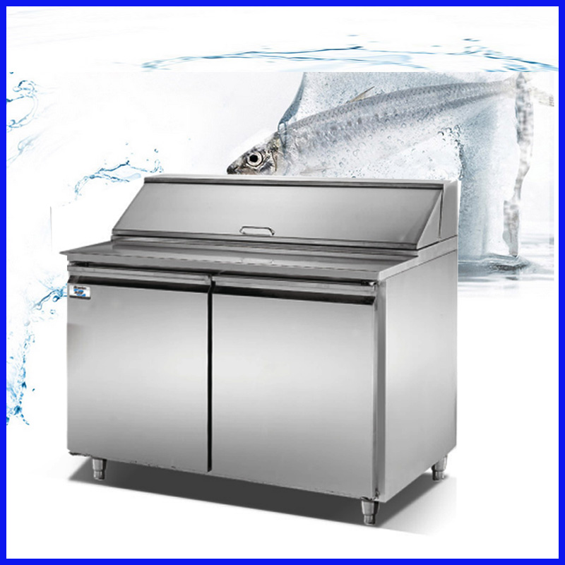 Commercial Meat Refrigerator Showcase Salad Bar Display Sale In Food Processors From Home Appliances On Aliexpress