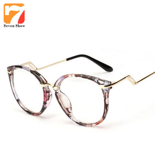 395d831c404 New Cat eye Clear Eyewear Lens Optik Glasses prescription glasses Designer  Round Retro Reading Glasses Women Frames gafas