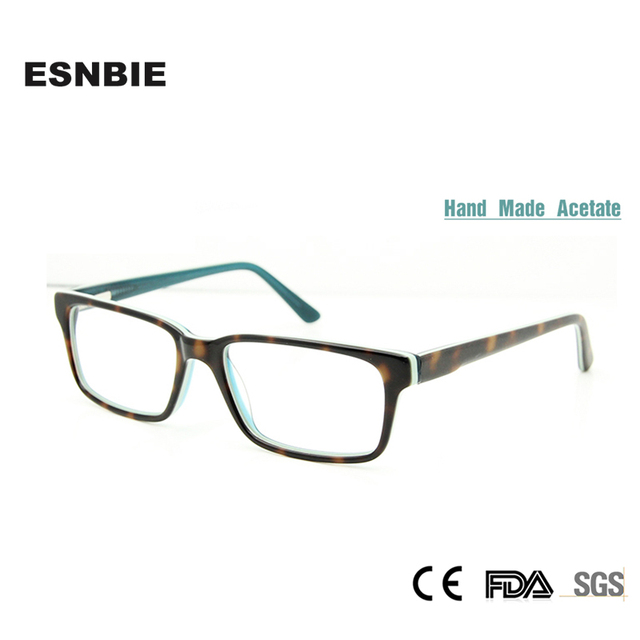 ESNBIE Small Size Prescription Glasses Women Multi Colored Hand Made ...