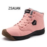 Size 3.5 10.5 Women Winter Casual Shoes Plush Warm Shoes Women Lady Girl Boy Couple Unisex Shoes Snow Boots Women Winter Boots