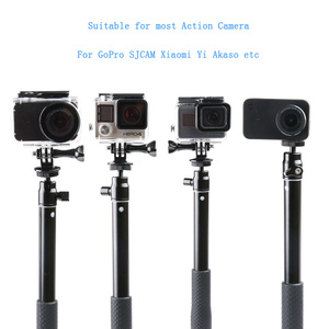 Image 2 - 36 Handheld Extendable Pole Selfie Stick with Tripod Stand for GoPro Hero 8 7 6 5 SJCAM DJI Osmo Action Camera Accessories Set