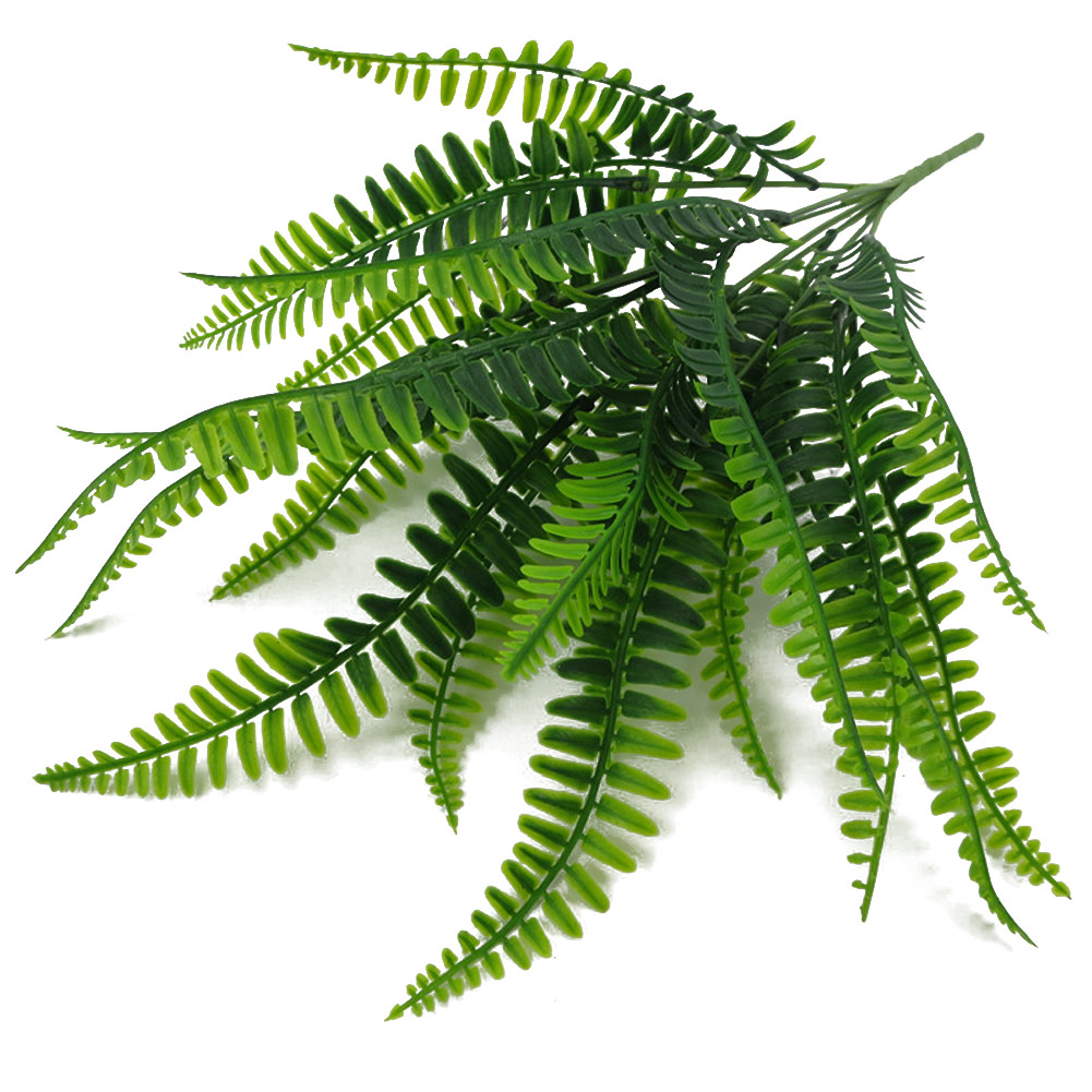 42 см 7 вилка искусственный персидский лист растение довольно поддельные реалистичные пластиковые свадебные декорации Lysimachia папоротник Цветочный декор
