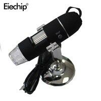 Portable Mega Pixels 50X To 500X 2MP USB 8 LED Digital Industrial Microscope Endoscope Camera Magnifier