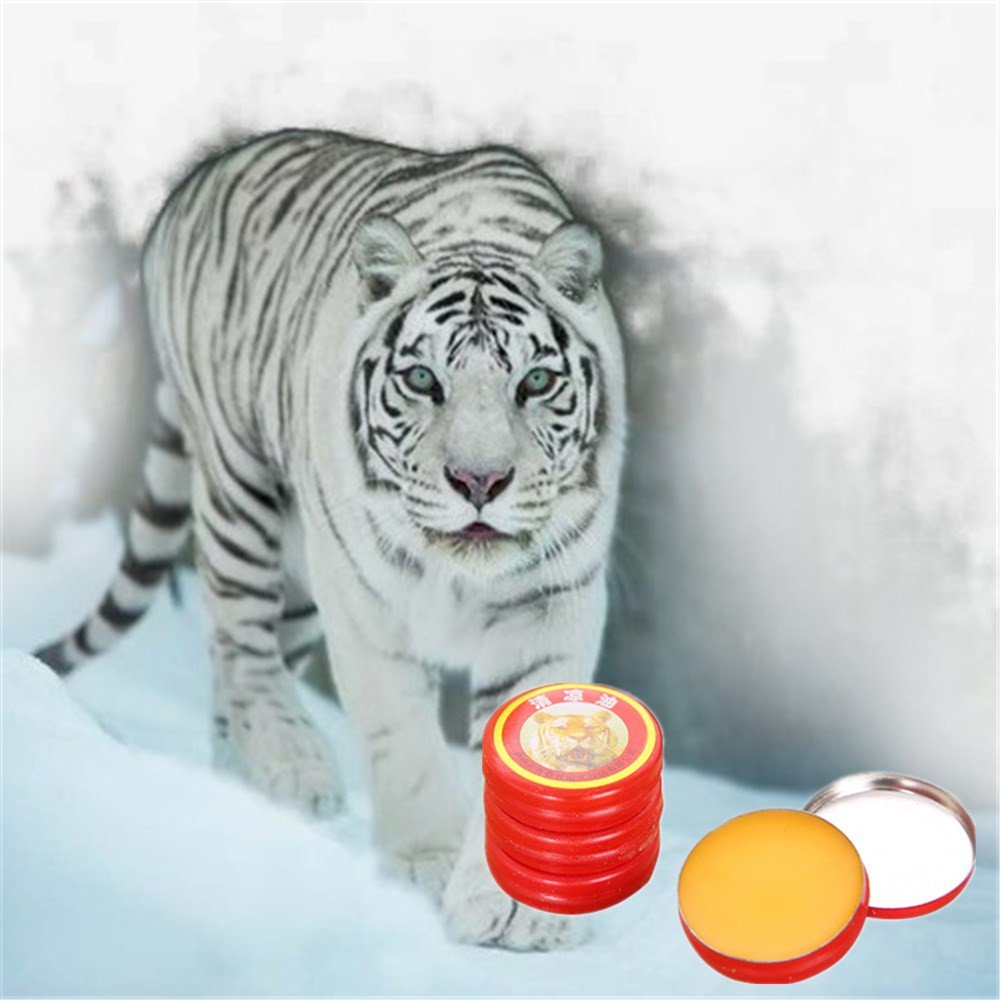 Chinese Medicine DISAAR Headache Ease Pain Treatment Toothache Essential Oil Vietnam White Tiger Balm Acesodyne Ointment 3g