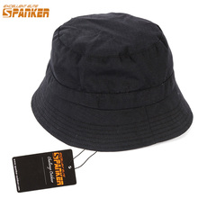 e61e003e439b EXCELLENT ELITE SPANKER Outdoor Bucket Tactical Hats for Men Wide Hat  Fisher Man Cap Fishing Hiking