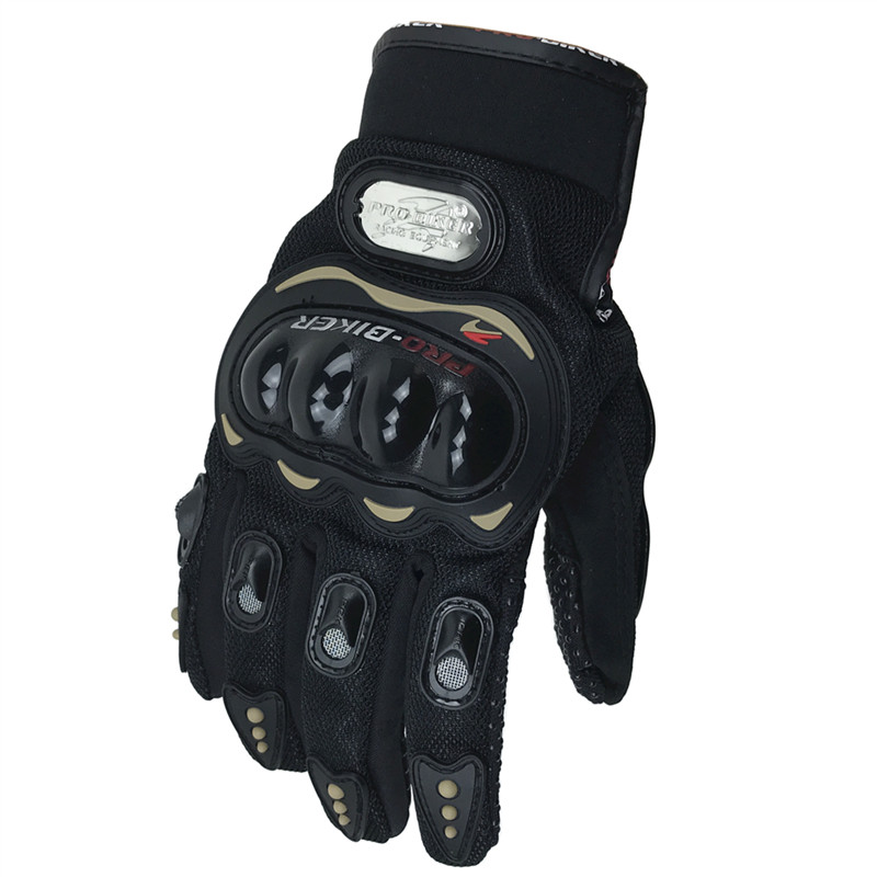 Probiker guantes de motocicleta guantes de protección total para los dedos guantes de bicicleta de carrera MCS-01C guantes de bicicleta