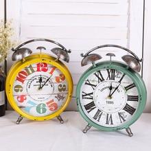Alarm Clock Saat Wall Clock Despertador 3D Table Clocks Duvar Saati Horloge Murale Digital Watch Home living room decoration