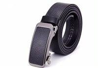 Hongmioo Men Belts Luxury High Quality Automatic Buckle Belt Designer Leather Belt Men Casual Strap With
