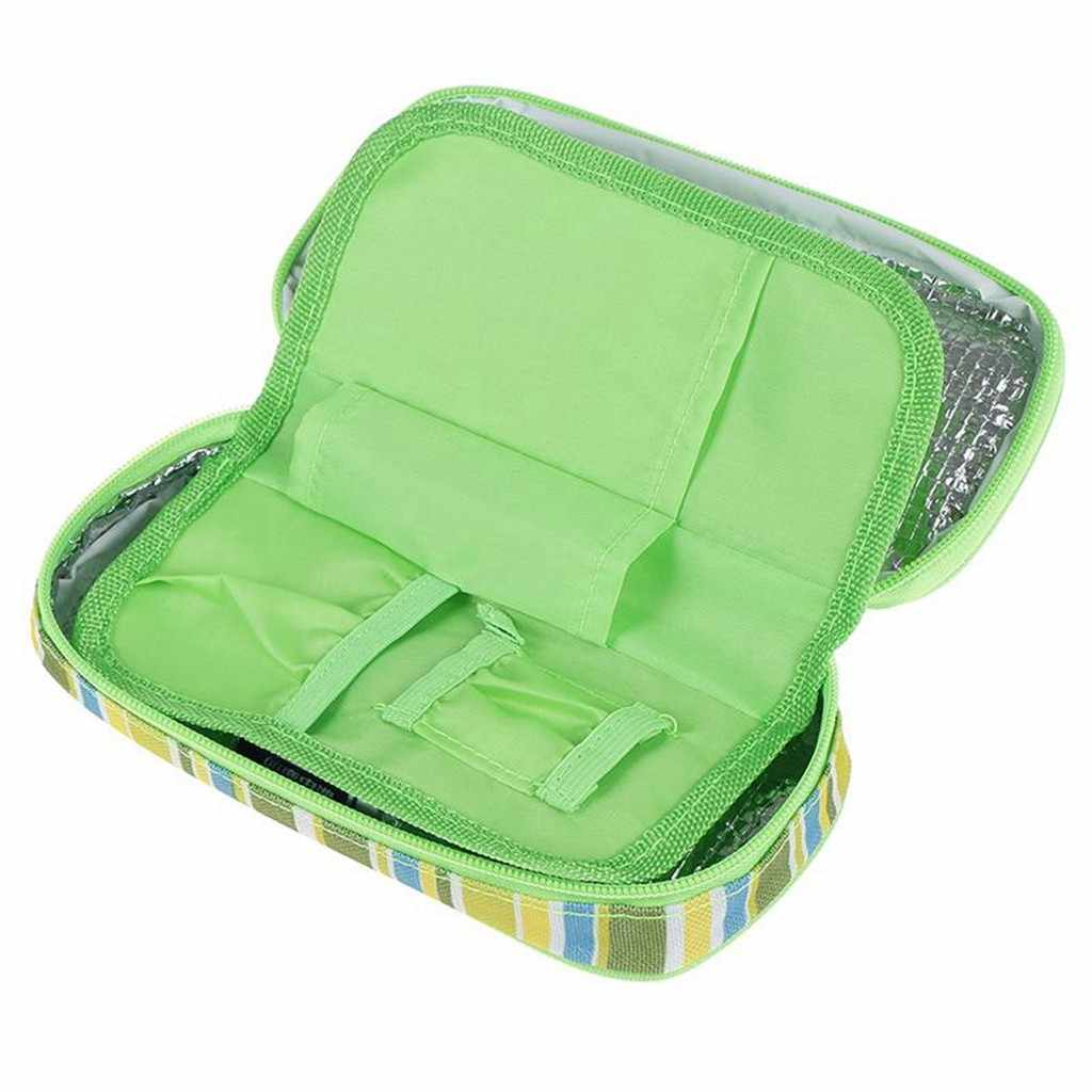 Insulin refrigerated ice pack Diabetic Organizer Medical Cooler Ice Packs Temperature Cooler makeup organizer kitchen @16