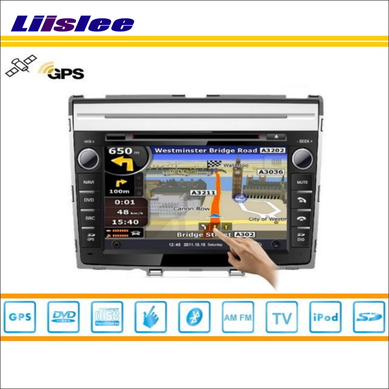 Liislee Car DVD Player GPS Nav Navi Map Navigation For