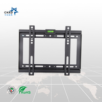 Universal TV Wall Mount Flat Screen Bracket HDTV Flat Panel TV Fixed Mount For 14 17