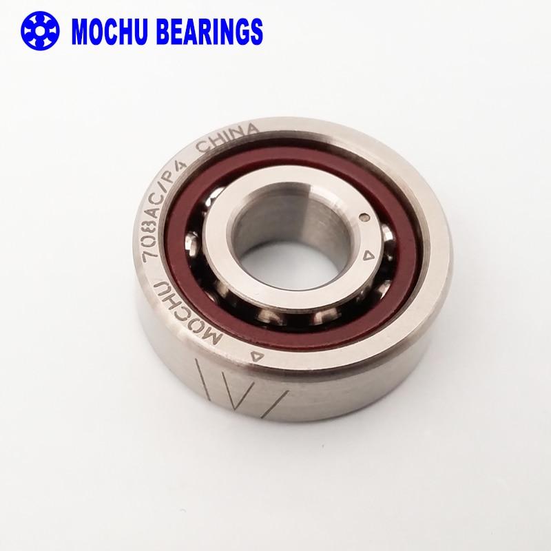 1pcs MOCHU 708AC/P4 8X22X7 708AC 708 Sealed Angular Contact Bearings Spindle Bearings CNC ABEC-7 mochu 22213 22213ca 22213ca w33 65x120x31 53513 53513hk spherical roller bearings self aligning cylindrical bore