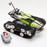 Compatible Legoings Genuine Technic Kit RC Tracked Racer 42065 Remote control With Motor Building Block Bricks Toys For Kids