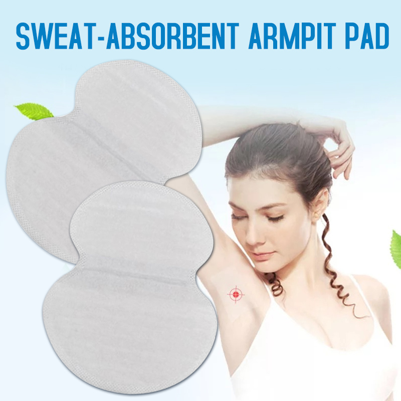 30pcs Summer Anti Underarm Armpit Sweat Pads For Women Underarm Deodorants Stickers Absorbing Disposable Perspiration Patch