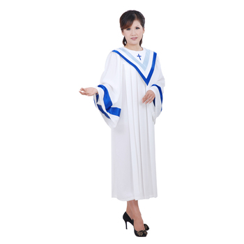 High quality Christian Garments poetry choir robe clothes European and USA Nun clothing church choir costume Christian gown Robe