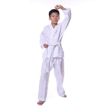 KungFu ITF Taekwondo mundury białe dzieci dorosłych taekwondo Karate dobok wykwintne hafty tkd odzież Kungfu wushu garnitur tanie i dobre opinie sceamout Ochrona obcisłe spodnie Biały pas Karate Clothing