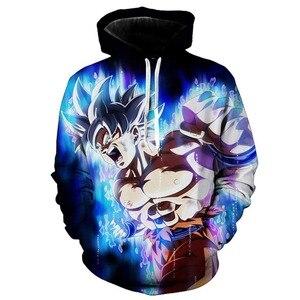 Dragon Ball Z Goku 3D Hoodie Coat Men Women Sweatshirts 3D Hoodies Pullovers Outerwear Hoodie Jacket Tracksuits Streetwear Hoody(China)