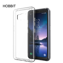 For Samsung Galaxy S8 Active Clear Case Soft TPU Case Crystal Transparent Slim Anti Slip Case Back Protector Cover Shockproof s style anti slip protective tpu back case for samsung galaxy young s6310 black