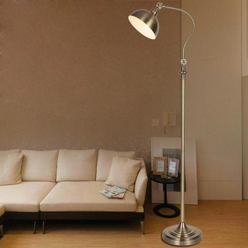 luxury retro floor lamp european antique iron floor lamp