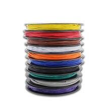 Fil électronique bidon en cuivre, 100 mètres, 328 ft, UL 1007, 28 AWG, 10 couleurs, bricolage