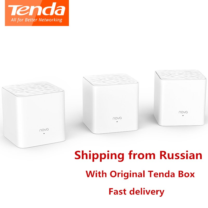 Tenda Nova MW3 Wireless Wifi Router AC1200 Dual-Band For Whole Home Wifi Coverage Mesh WiFi System Bridge, APP Remote Manage