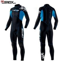 SLINX 3mm Wetsuit Winter Warm Men Women Suit Swimwear Bodysuit For Scuba Diving Spear Fishing Fishermen Snorkeling