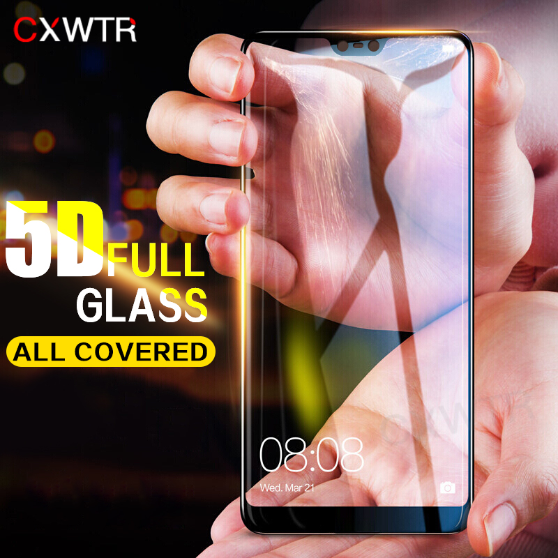 <font><b>5D</b></font> Full Cover Tempered <font><b>Glass</b></font> For <font><b>Huawei</b></font> P9 P10 Plus P20 Pro P9 Lite Screen Protector For <font><b>Honor</b></font> <font><b>9</b></font> Lite 10 <font><b>Glass</b></font> Film image