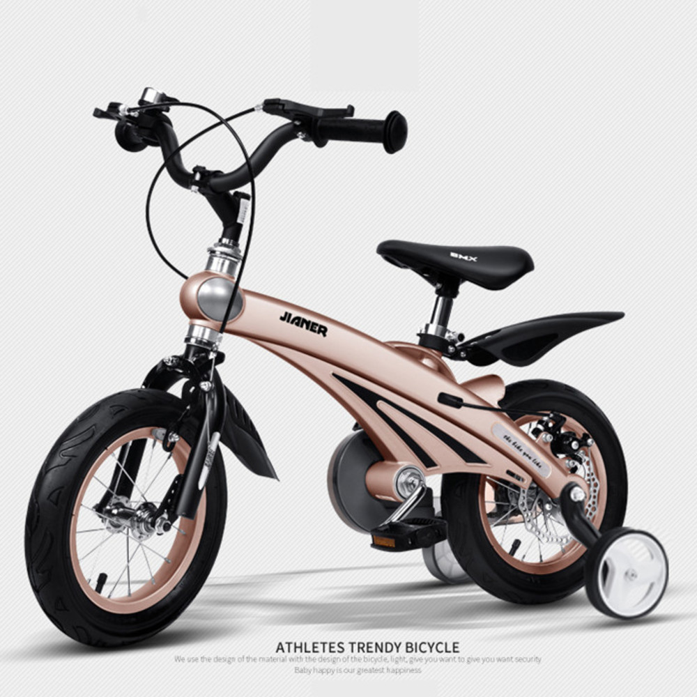 LOVELION Children's Bicycle 12/14/16 Inch Wheel Magnesium Alloy Frame Baby Safety Disc Brake 2/4/6 Years Old Child Buggy Bike