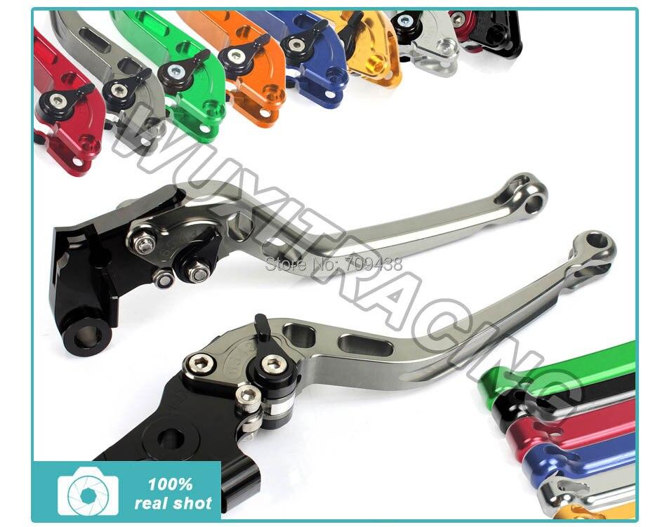 ФОТО Free Shipping Top Quality Aluminum Alloy CNC Short Straight Brake Clutch levers For Yamaha XT 660 R X XT660R 2004-2013