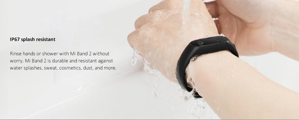 Xiaomi Mi Band 2 Miband 2 Smart Bracelet Wristband Band Fitness Tracker Bracelet Smartband Heart rate Monitor 100% Original (9)