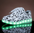Led Shoes Men Light Casual Shoes For Man Super Fashion Colorful Led Luminous Shoes 7 Colors Top Sale #B1843