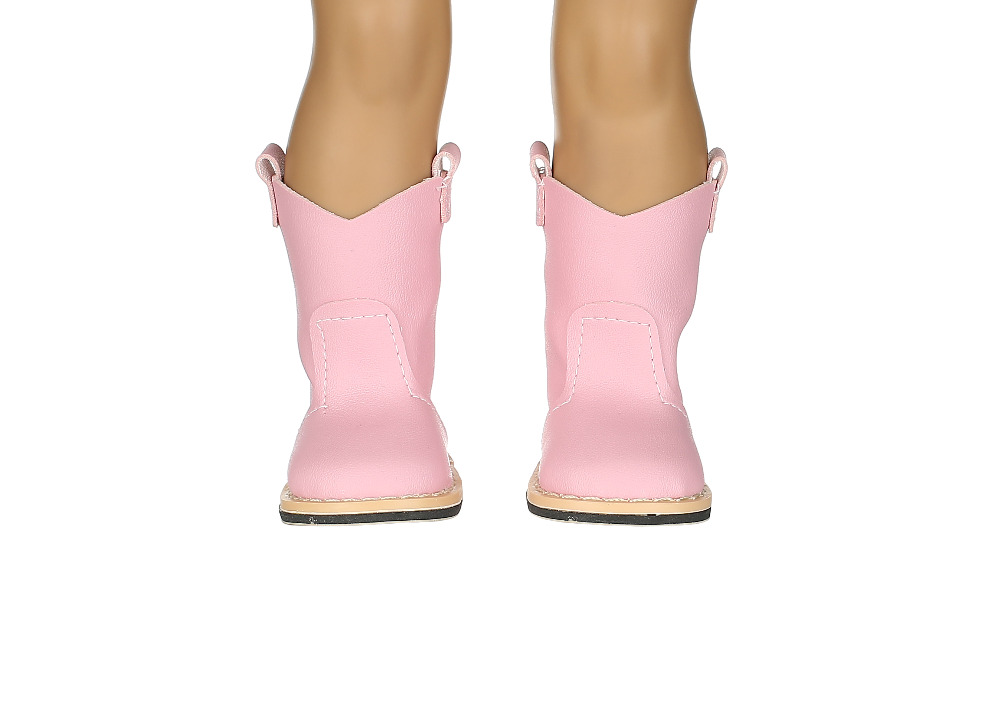 New style popular pink Boot shoes& Fashion shoes fit 18 inch American girl doll\doll accessories gift for children N336 2016 new style popular 18 inch american girl doll christmas clothes dress for christmas gift abd 04